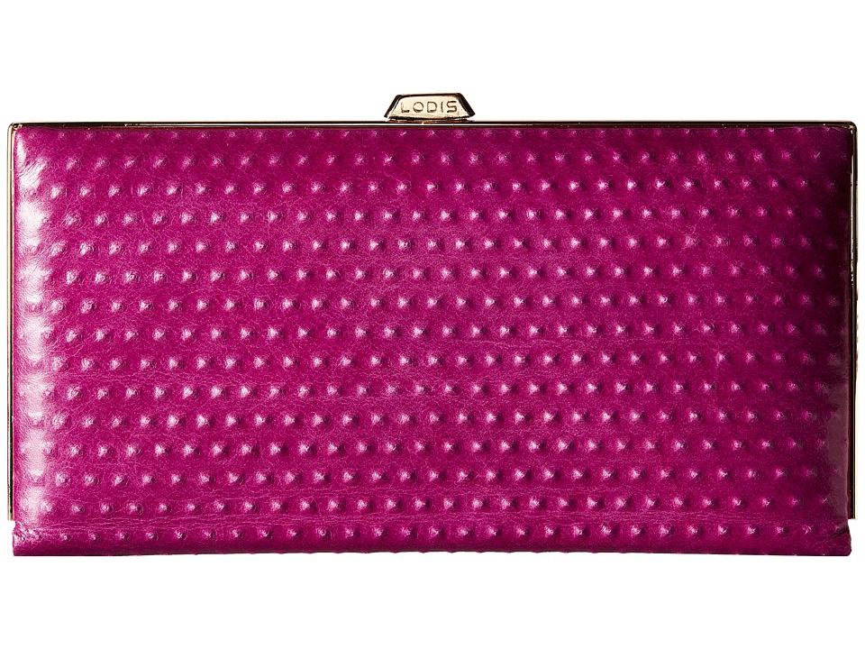 Lodis Accessories - Cadiz Quinn Clutch Wallet (Iris) Wallet Handbags