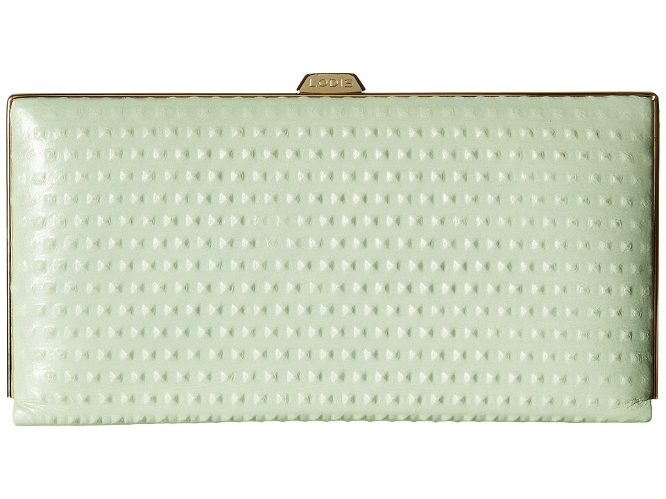 Lodis Accessories - Cadiz Quinn Clutch Wallet (Mint) Wallet Handbags