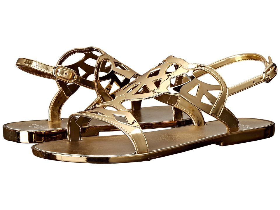 Stuart Weitzman Gelfisher Gold Jelly Womens Shoes