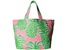 Lilly Pulitzer Beach Tote (Pink Pout Flamenco Accessories)