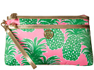 Lilly Pulitzer Toosie Wristlet (Pink Pout Flamenco Accessories)