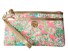 Lilly Pulitzer Toosie Wristlet (Flamingo Pink Southern Charm)