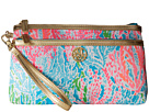 Lilly Pulitzer Toosie Wristlet (Turquoise Lets Cha Cha Accessories)