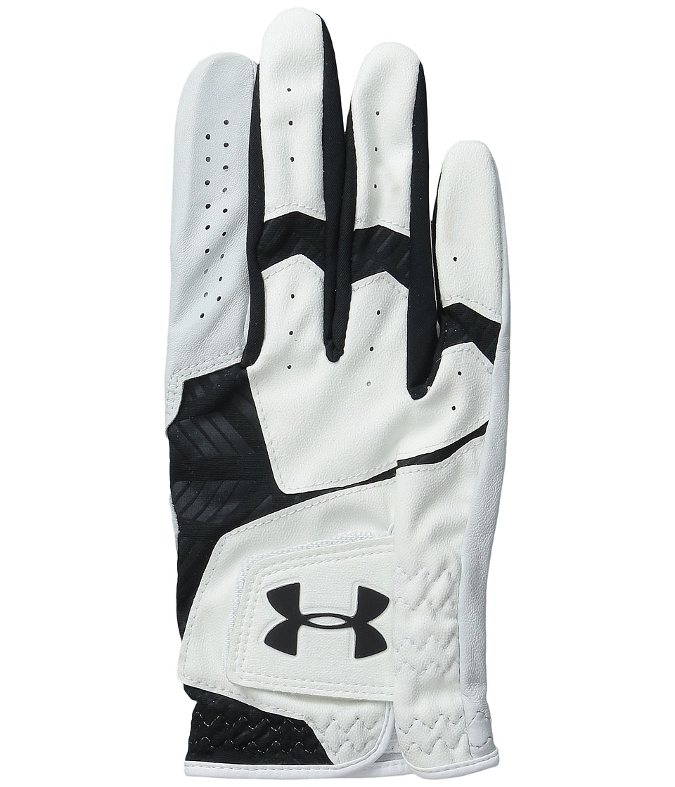 Under Armour - UA Coolswitch Gloves (White/Black/Black) Liner Gloves