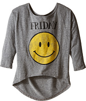 The Original Retro Brand Kids - Friday 3/4 Dolman Tee (Big Kids)