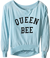 The Original Retro Brand Kids - Queen Bee Burnout Pullover (Big Kids)