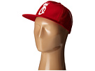 Obey Crown Trucker Hat (Red)