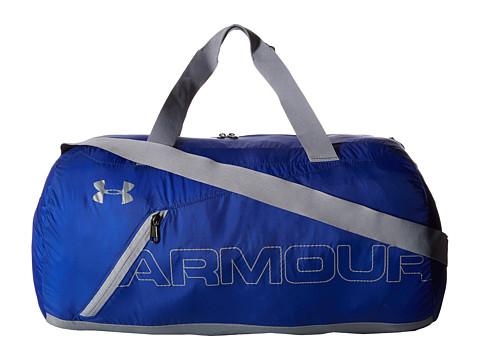 Under Armour UA Packable Duffel Bag - Royal/Steel/Silver