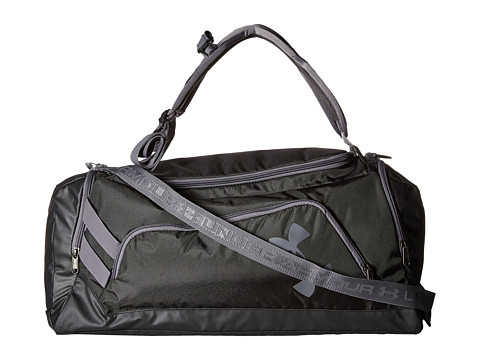 Under Armour UA Contain Duo Backpack/Duffel - Black/Black/Silver