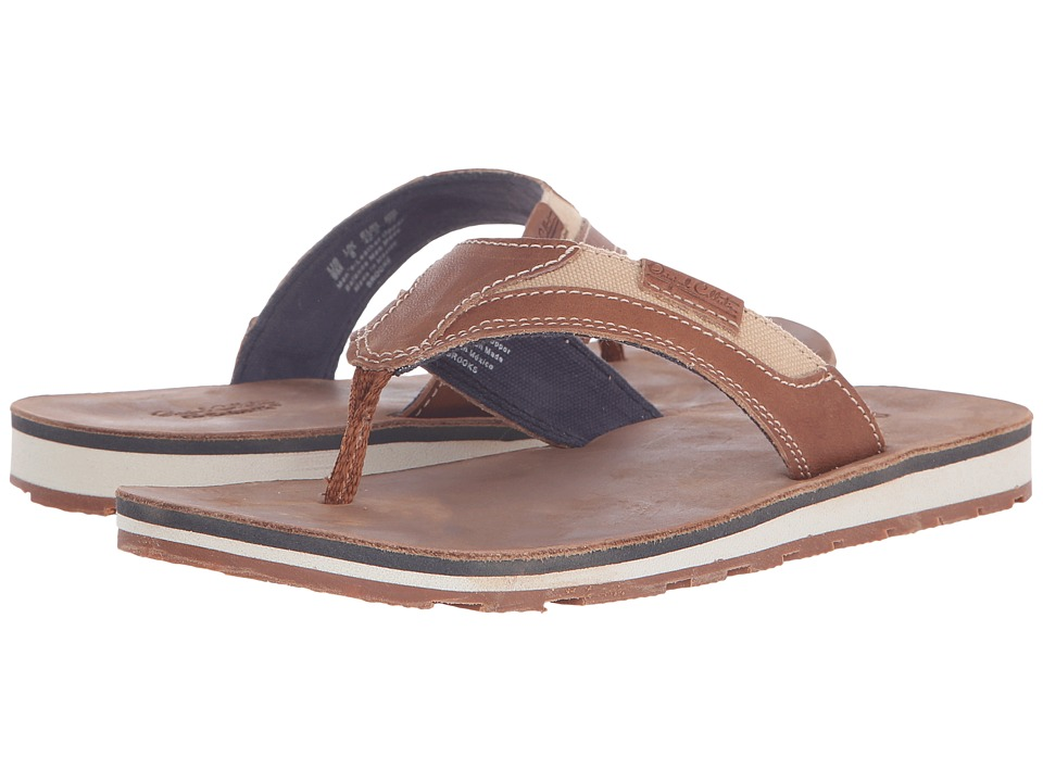 Dr. Scholls BROOKS Original Collection Rust Leather Mens Sandals