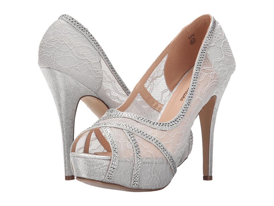 Lauren Lorraine Viv Silver Womens Shoes