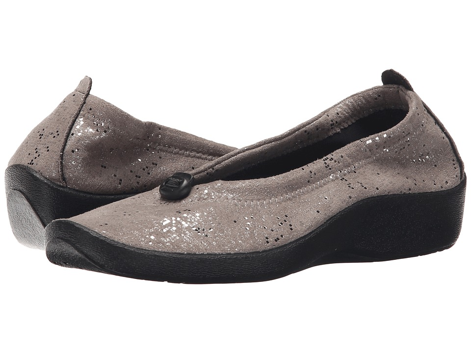 Arcopedico - L14 (Silver Sparkle) Womens Flat Shoes