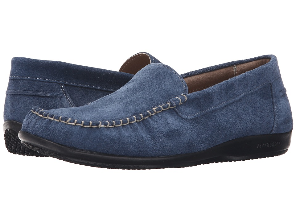 Arcopedico Alice Navy Suede Womens Shoes