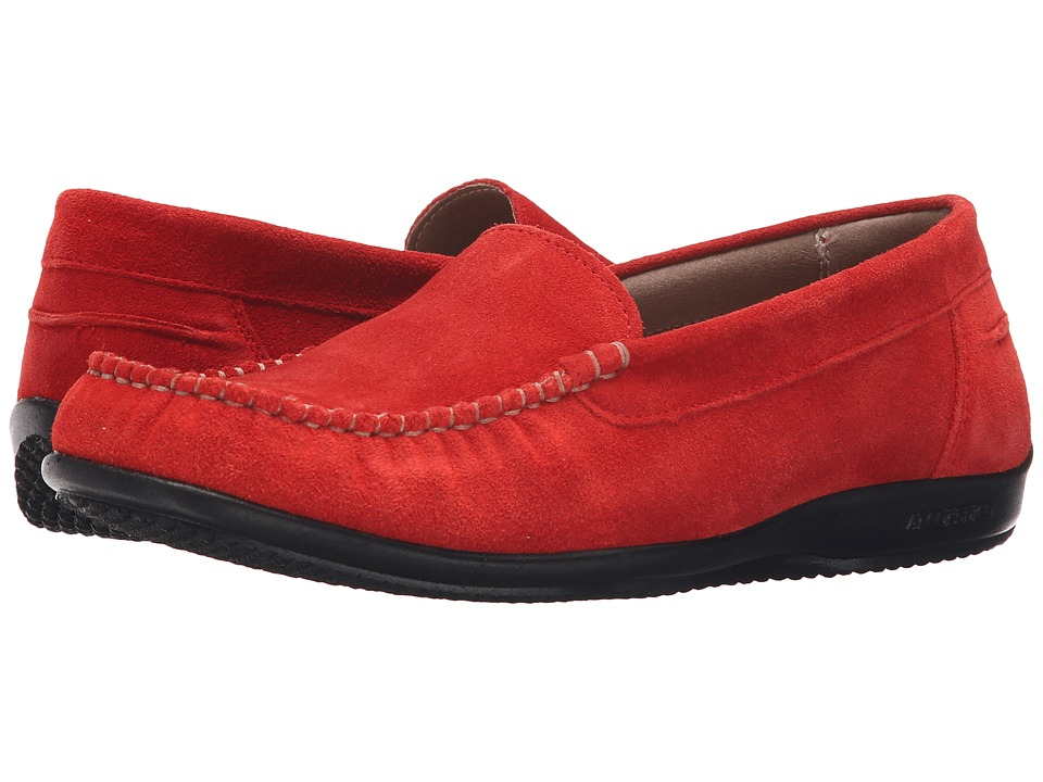 Arcopedico Alice Red Suede Womens Shoes