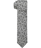 Dolce & Gabbana - Leaf Print Regular Width Silk Tie