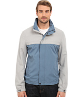 Perry Ellis - Microfiber Color Block Zip Front
