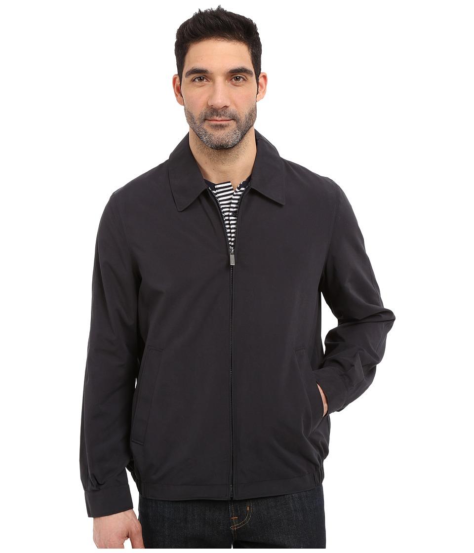 Perry Ellis Microfiber Golf Jacket Dark Navy Mens Coat