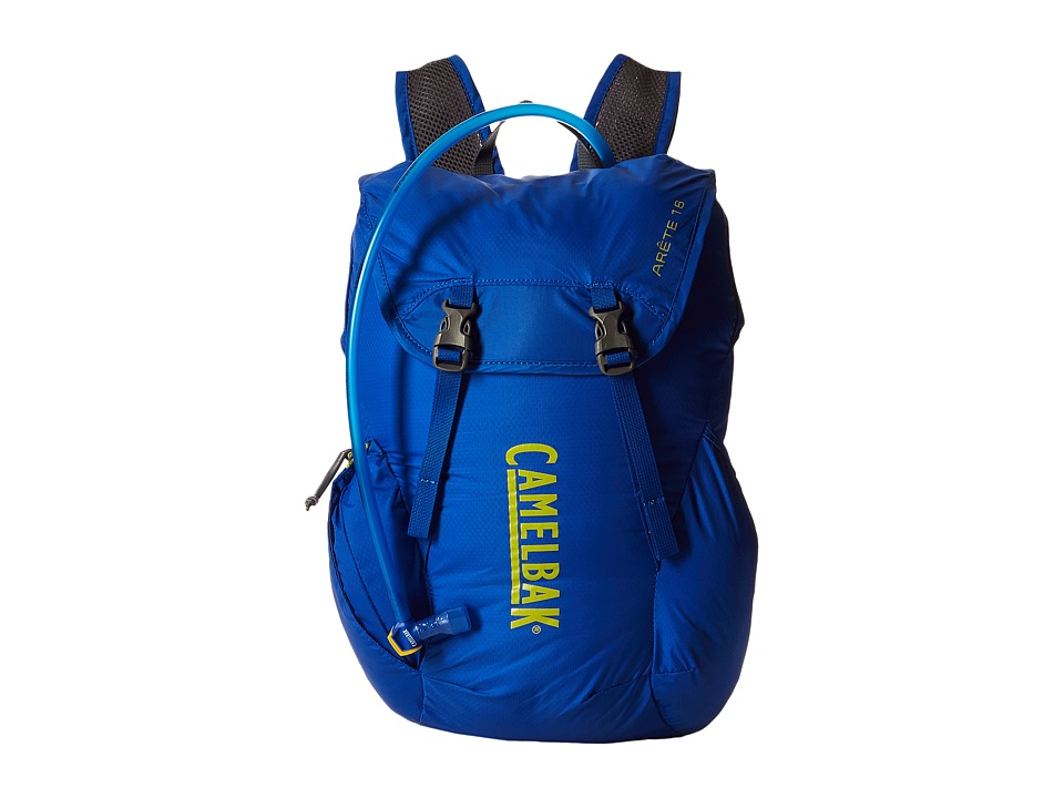 CamelBak Arete 18 50 oz Olympian Blue/Green Oasis Backpack Bags