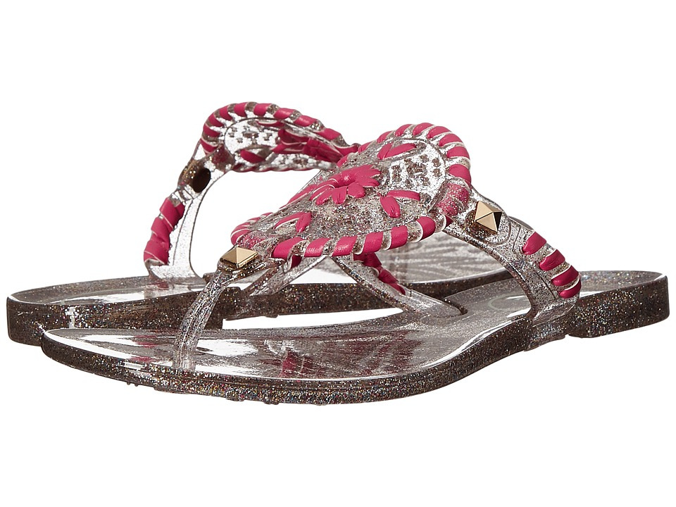 Jack Rogers - Miss Sparkle Georgica Jelly (Toddler/Little Kid/Big Kid) (Multi) Women's Sandals