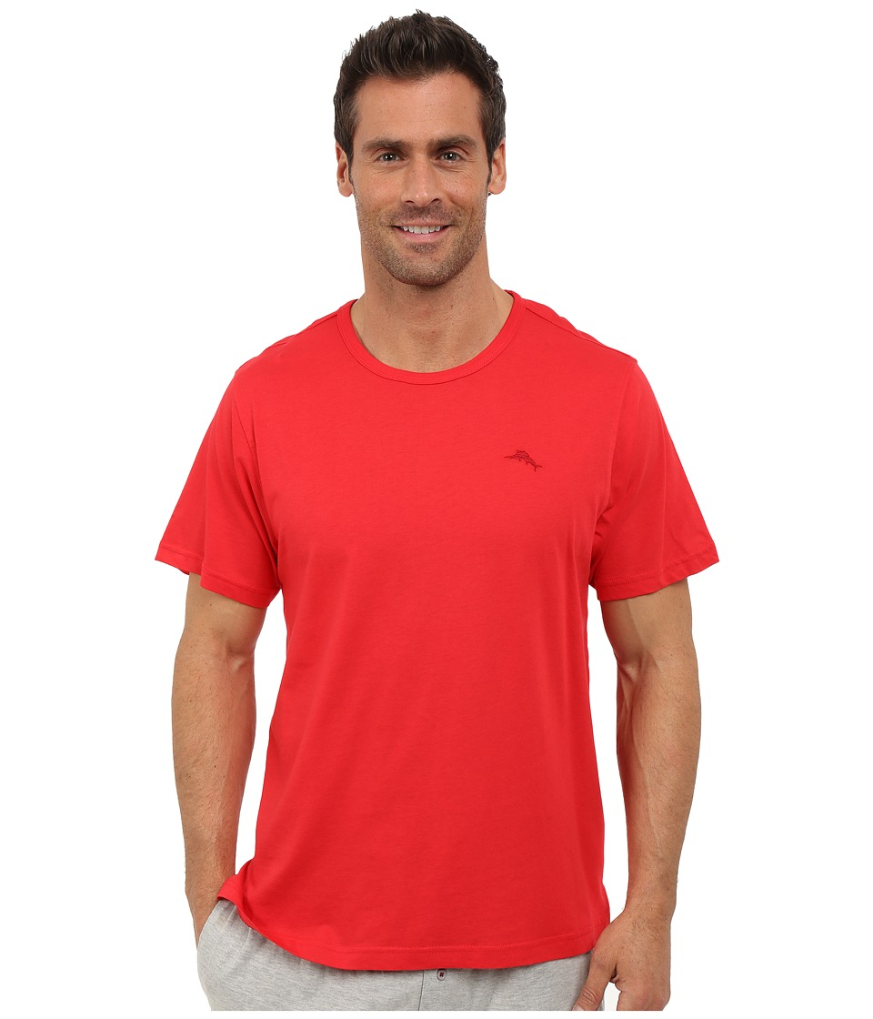 Tommy Bahama - Basic Short Sleeve T-Shirt (Cherry) Men