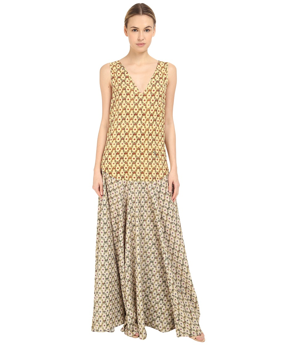 Just Cavalli Printed Maxi Dress Light Variant Womens Dress