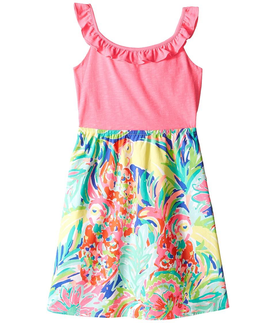 Lilly Pulitzer Kids Claire Dress Toddler/Little Kids/Big Kids Multi Casa Banana Girls Dress