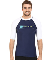 Billabong - All Day Raglan Short Sleeve Rashguard