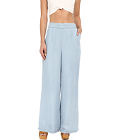 BB Dakota - Skylee Denim Tencel High Waisted Pants in Light Blue