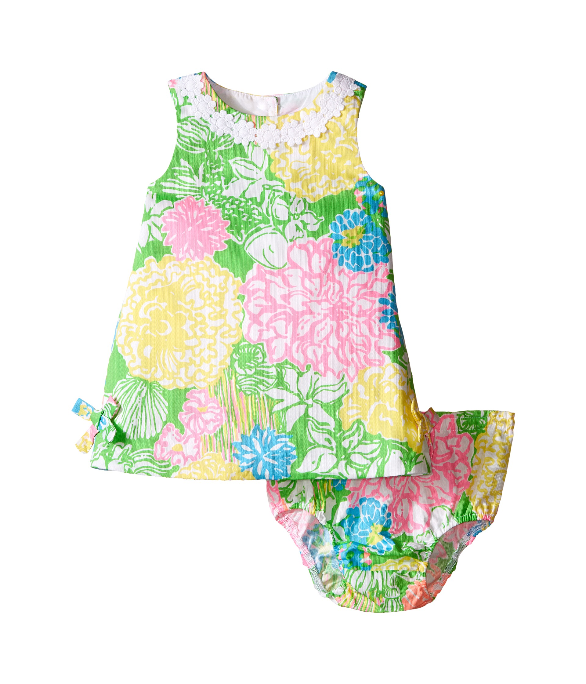 Lilly Pulitzer Kids Lilly Shift Infant Multi Hibiscus