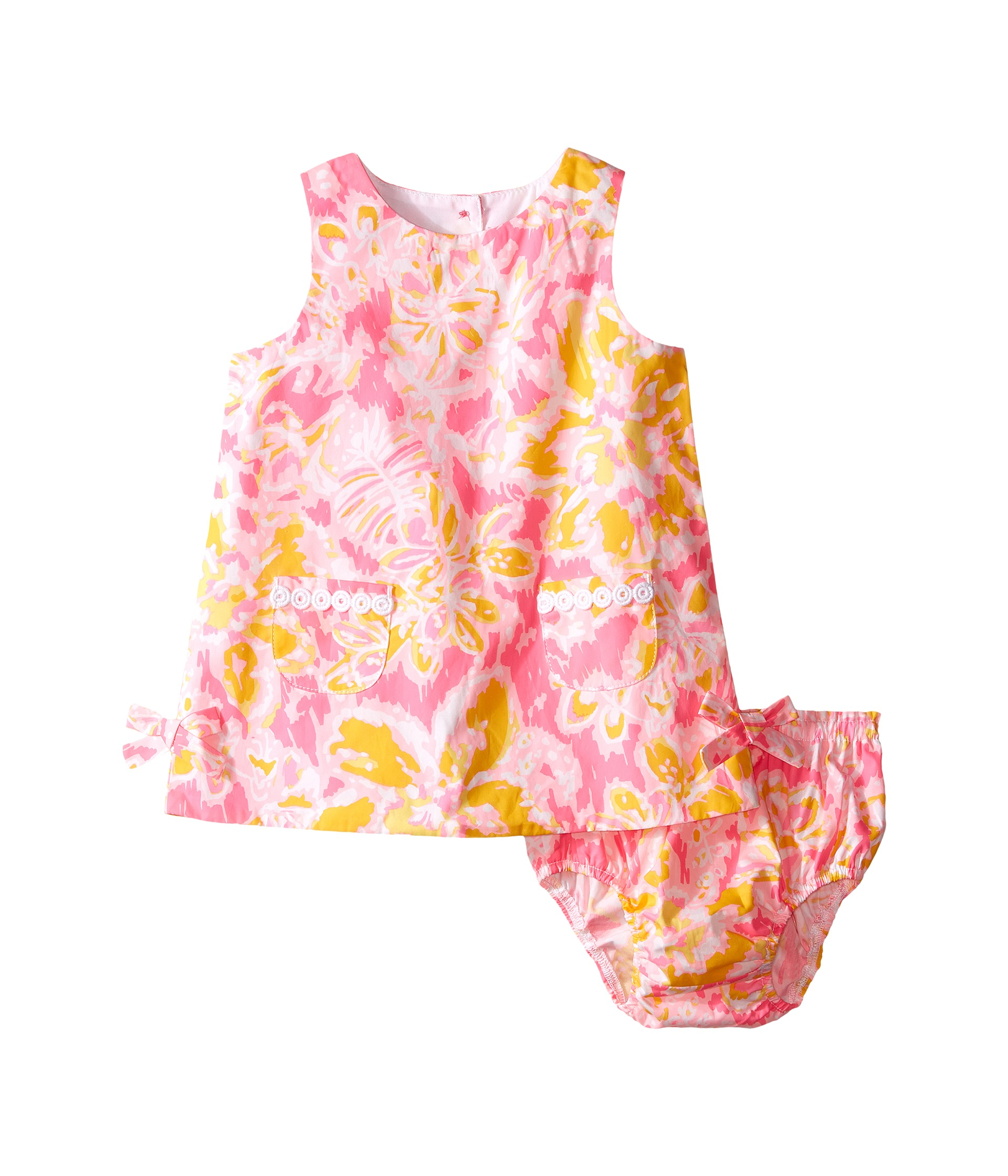 Lilly Pulitzer Kids Lilly Shift Infant Kir Royal Pink