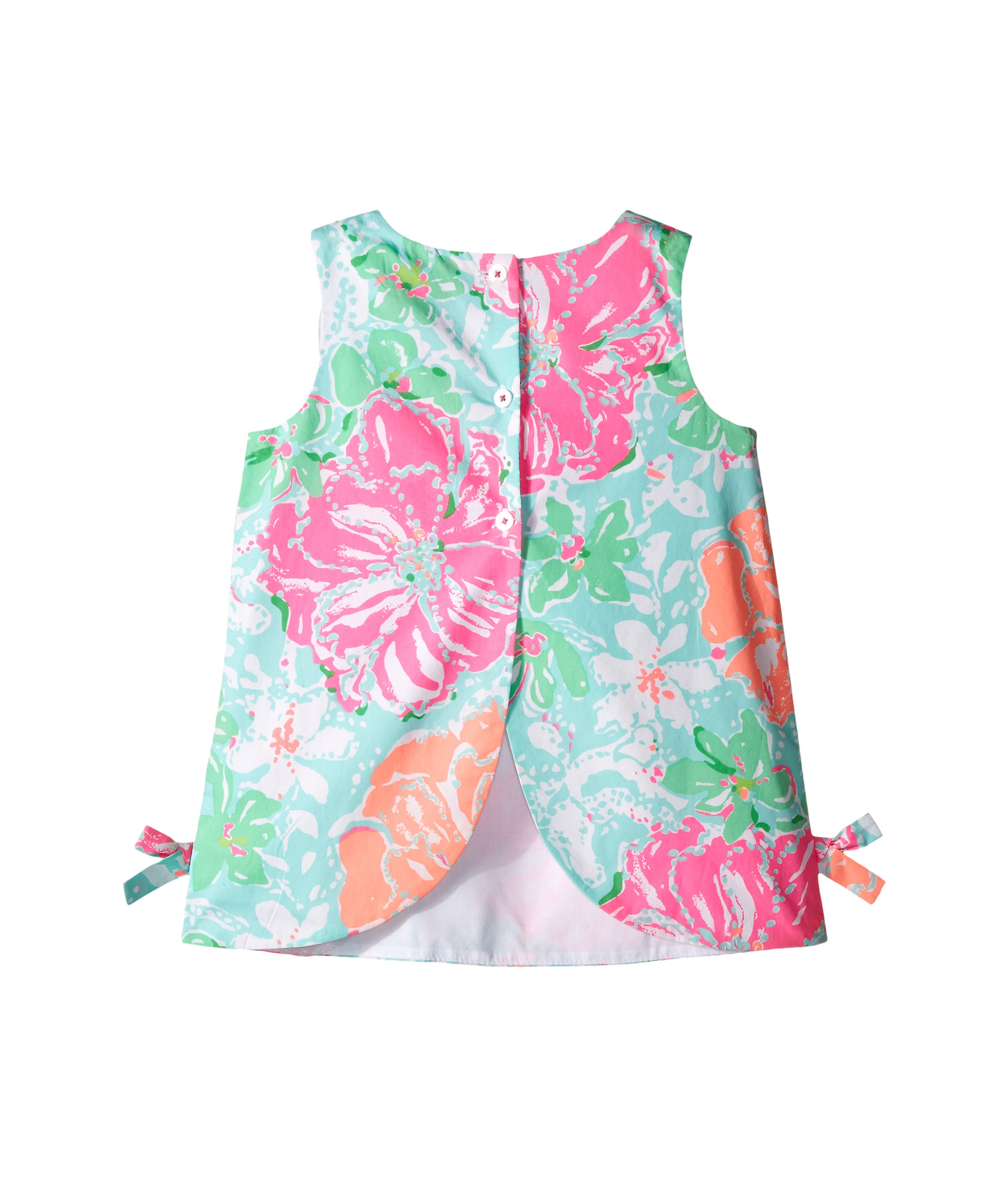 Lilly Pulitzer Kids Lilly Shift Infant Poolside Blue