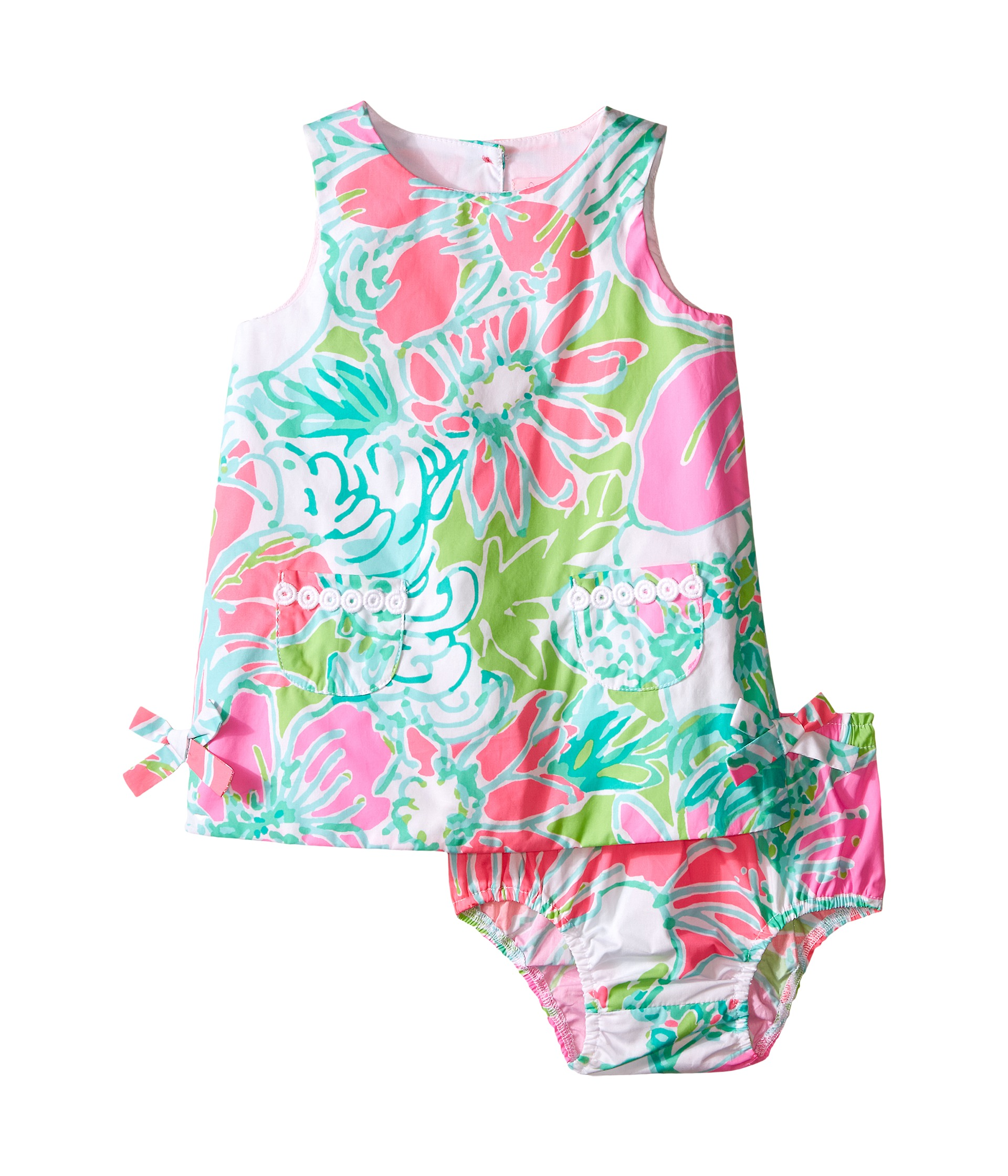 Lilly Pulitzer Kids Lilly Shift Infant Flamingo Pink