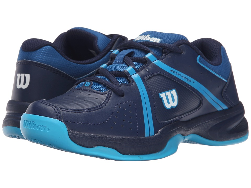 Wilson Kids Nvision Envy Junior Little Kid/Big Kid Navy/Scuba Blue Kids Shoes