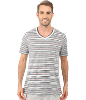 Tommy Bahama - Yarn Dye V-Neck Short Sleeve T-Shirt