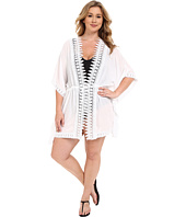 La Blanca - Plus Size Costa Brava Kimono Cover-Up