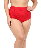 La Blanca - Plus Size Island Solid Ultra Rise Hipster