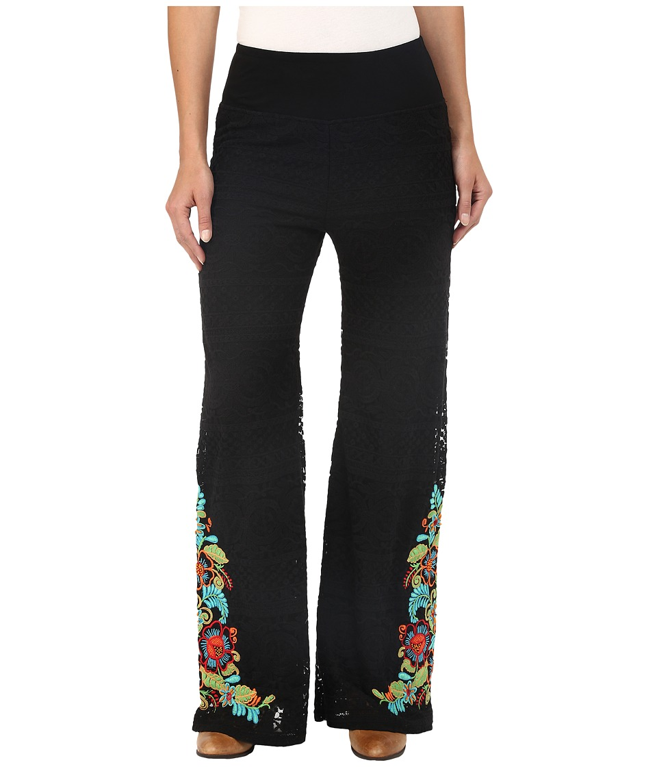Double D Ranchwear Pepino Dulce Pants Black Womens Casual Pants