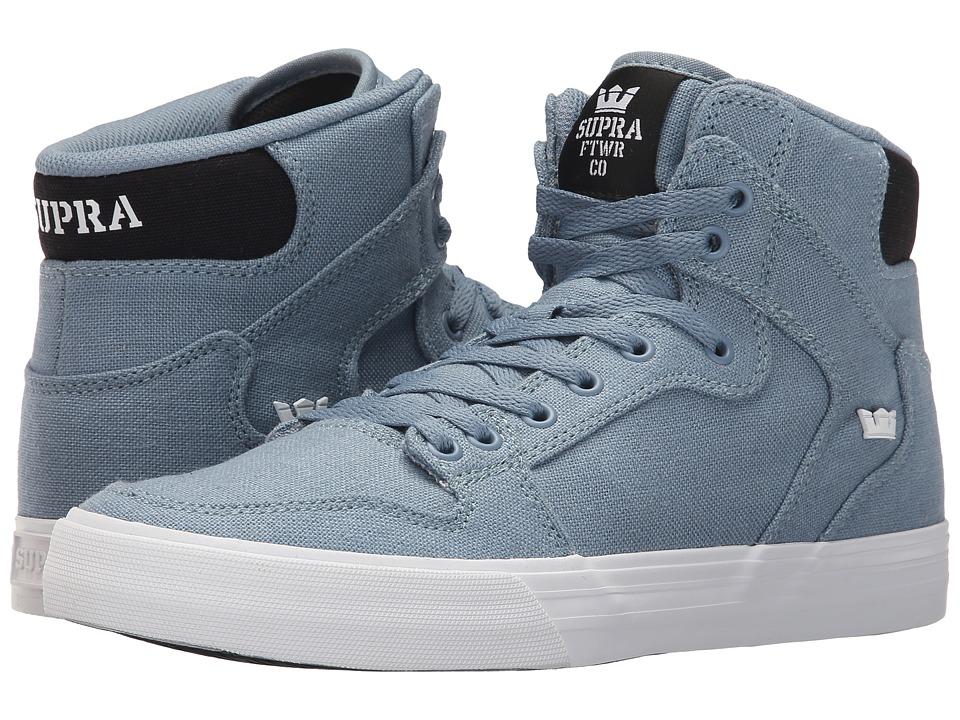 Supra - Vaider (Slate/Black/White) Skate Shoes