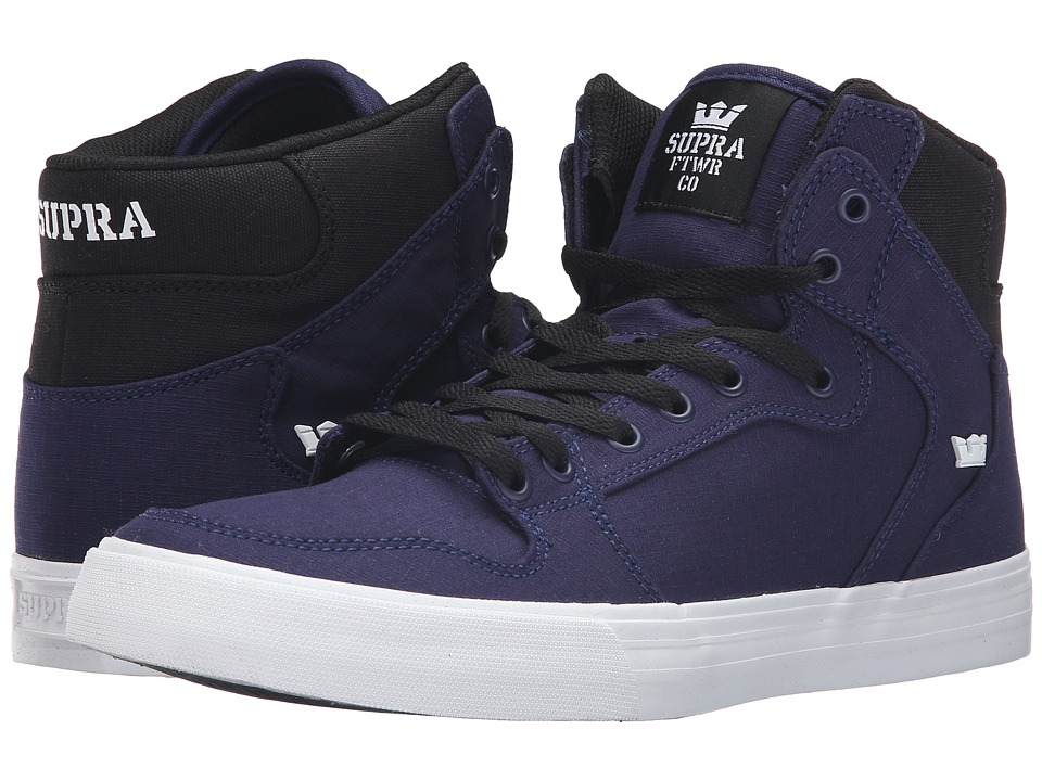 Supra - Vaider (Navy/Black/White) Skate Shoes