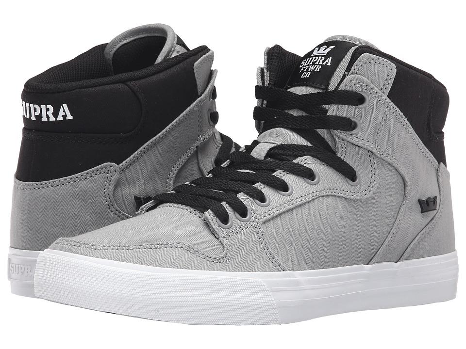 Supra - Vaider (Grey/Black/White) Skate Shoes