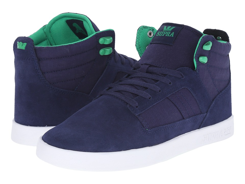 Supra Bandit Navy/White Mens Skate Shoes