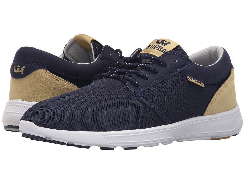 Supra - Hammer Run (Navy/Hemp/White) Mens Skate Shoes