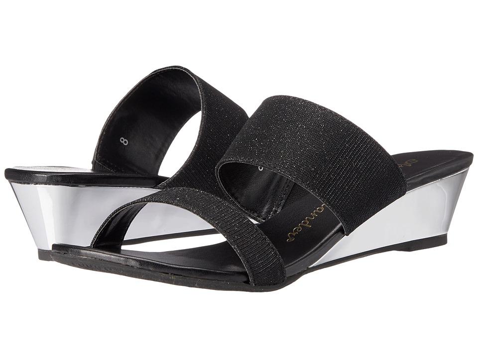 Athena Alexander Sparkler Black Womens Sandals