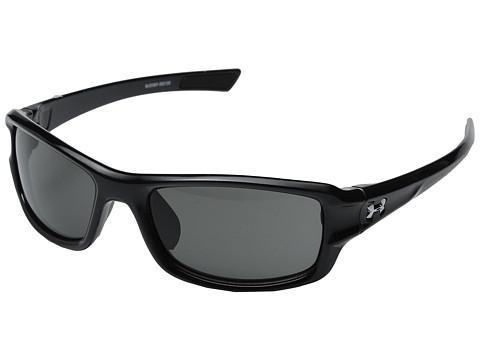 Under Armour UA Edge - Shiny Black Frame/Gray Lens