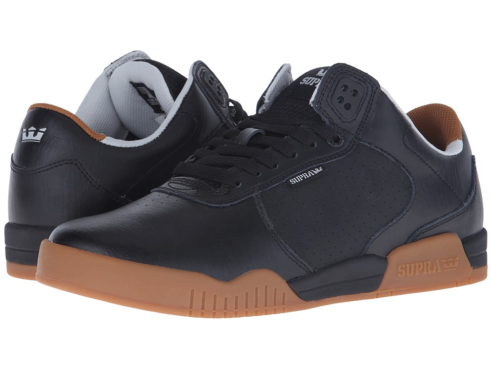 Supra - Ellington (Black/Gum/Leather) Men