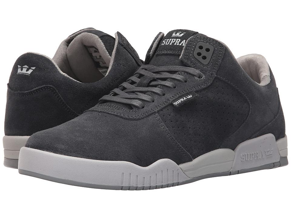 Supra - Ellington (Charcoal/Light Grey) Mens Shoes