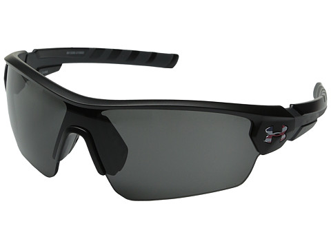 Under Armour UA Rival - ANSI Freedom Satin Black/Charcoal Gray Frame/Gray Lens