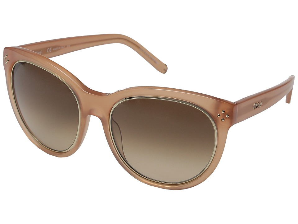 Chloe Boxwood Peach Fashion Sunglasses