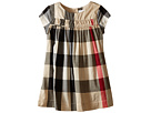Burberry Kids Burberry Kids Check Dress w/ Ruched Panel (Infant/Toddler)