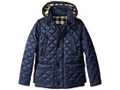 Burberry Kids Burberry Kids Quilted Jacket with Hood (Little Kids/Big Kids)
